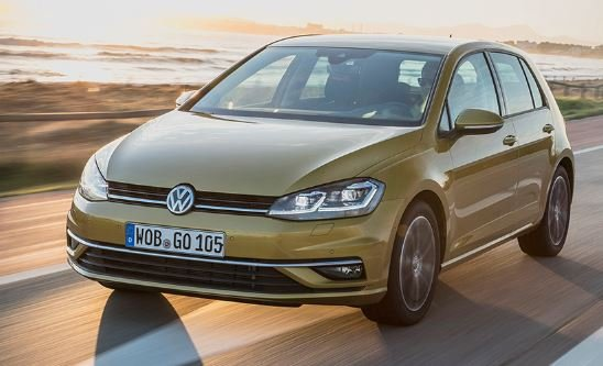Volkswagen Golf 8 лето 2019