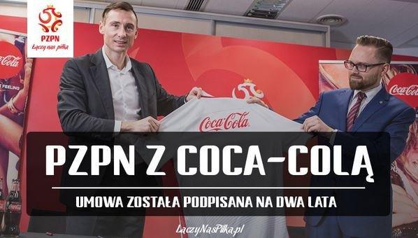 Coca-Cola спонсор сборная Польши футбол