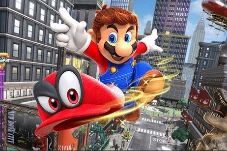 мультфильм Super Mario Bros Nintendo