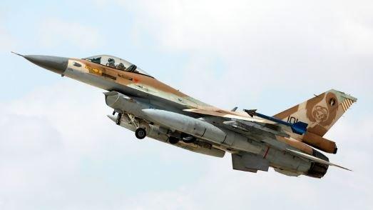 Израильский самолет F16