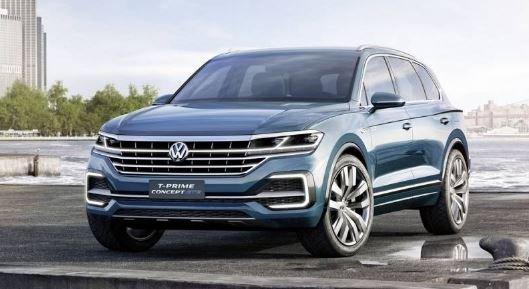 Volkswagen Touareg 3 2018 пекин