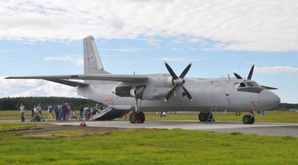 В Сирии разбился российский транспортный самолет Ан-26. 39 погибших
