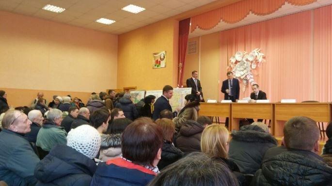 встреча с администрацией Заводского района Минска