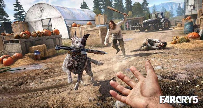 Far Cry 5 геймплей