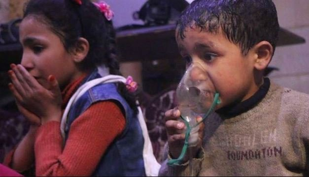 В Сирии произошла очередная химическая атака