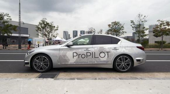 Nissan тестирует японский беспилотный автомобиль на дорогах Токио