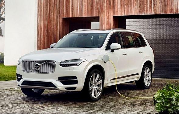 электрокары Volvo 2025 продажи