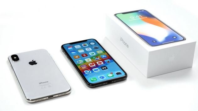 IPhone X Apple продажи 2018