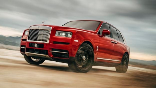 Презентован внедорожник Rolls-Royce Cullinan