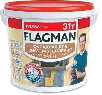 Премиальная фасадная краска FLAGMAN 31