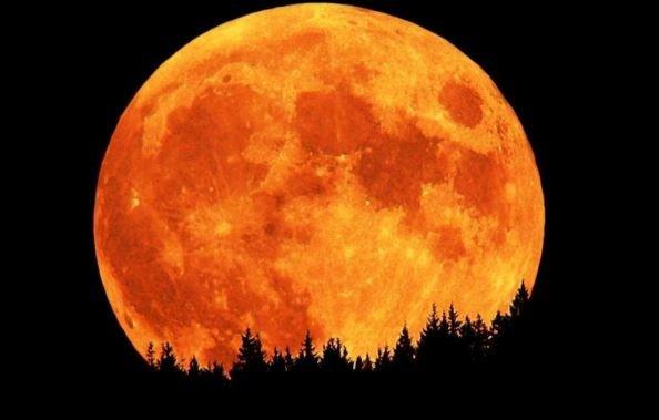 лунное затмение сегодня 2018