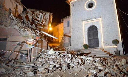 Молизе Италия землетрясение