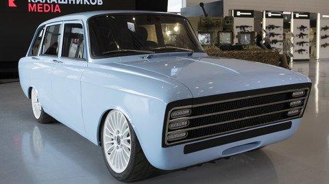 электромобиль CV-1 Калашников