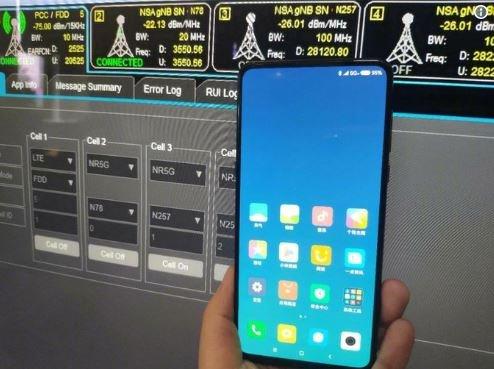 смартфон Xiaomi Mi Mix 3 5G 2018