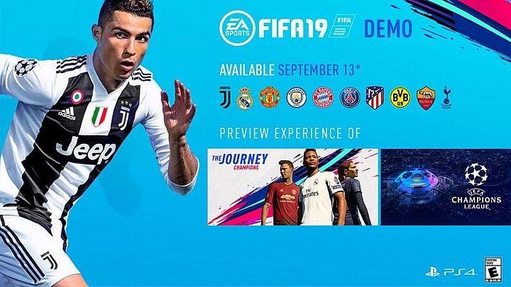 Демо-версия «FIFA 19» скачать 2018