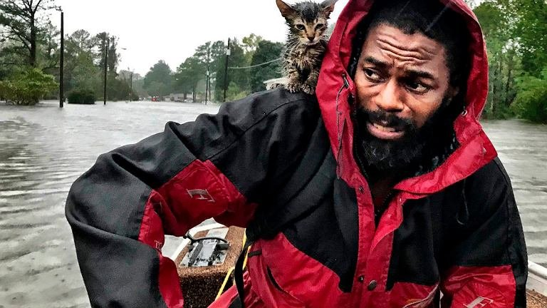 ураган Флоренс США 2018