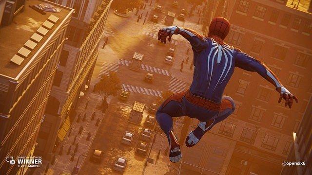 игра Spider man 2018 Sony