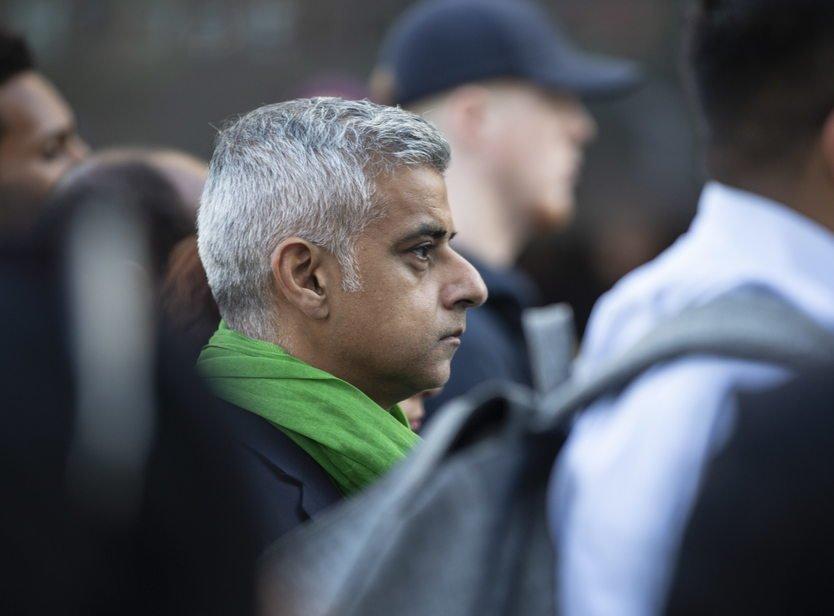 Садик Хан мэр Лондона