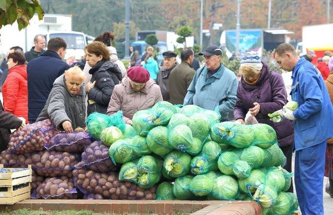 Когда и где в Минске пройдут сельскохозяйственные овощные ярмарки выходного дня?
