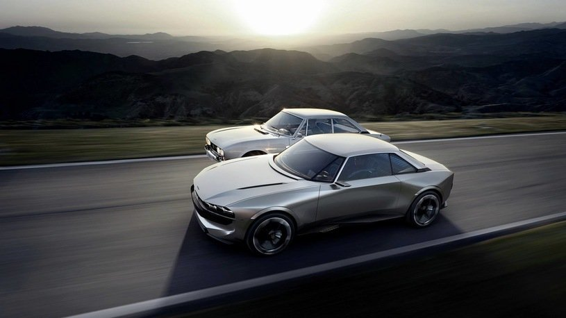 «Peugeot» выпустит электрическое ретрокупе «E-Legend»