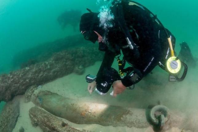 У берегов Португалии нашли корабль, затанувший 400 лет назад