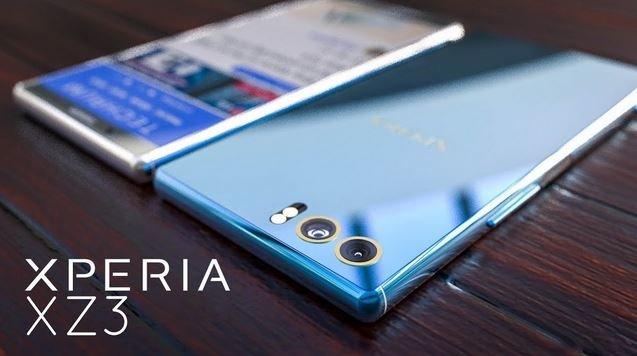 смартфон Sony Xperia XZ3 характеристики дата выхода