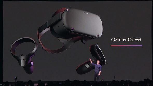 очки виртуальной реальности Oculus Quest 2019