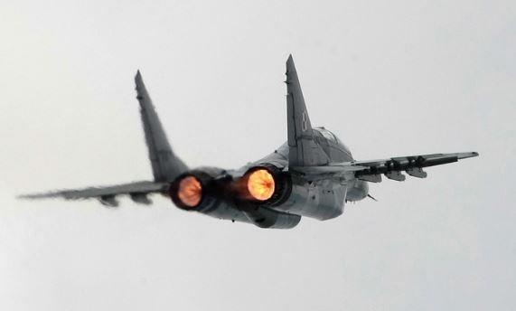 Российский самолет МиГ-29
