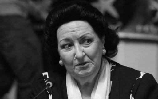 оперная певица Монсеррат Кабалье
