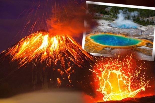вулкан Йеллоустоун США извержение