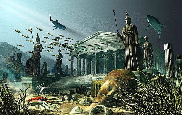 Атлантида древняя цивилизация
