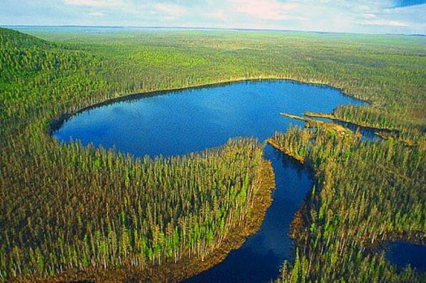 озеро Чеко, Сибирь
