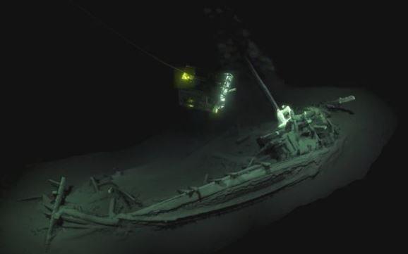 обнаруженный самый старый корабль в мире