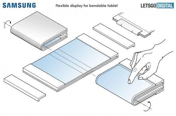 гибкие планшеты Samsung