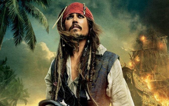 «Пираты Карибского моря» Джонни Депп