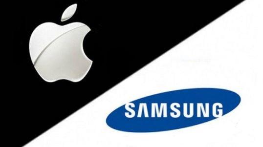 смартфоны компаний Samsung и Apple