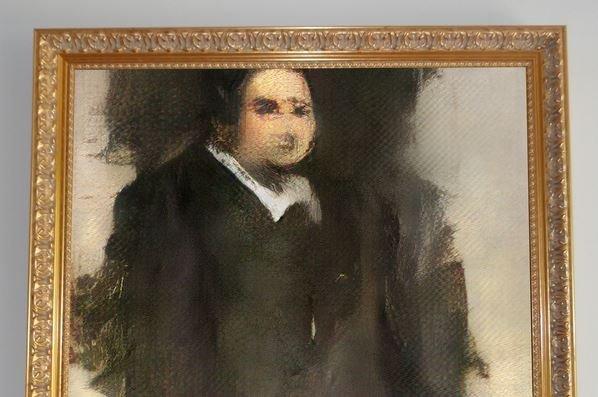 картина «Эдмонд Де Белами» аукцион