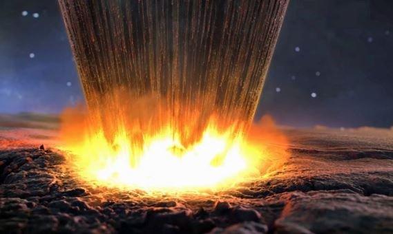 падение метеорита Гренландия