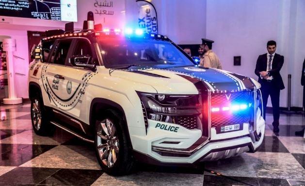 Представлена самая современная полицейская машина в мире