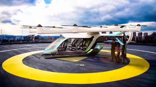 летающее такси Uberair