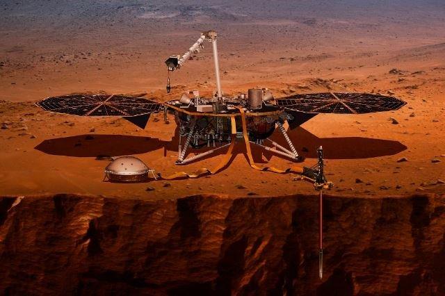 NASA миссия InSight зонд Марс