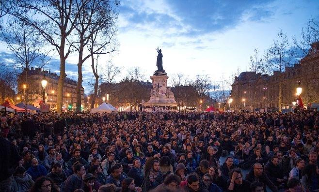 протесты во Франции 2018