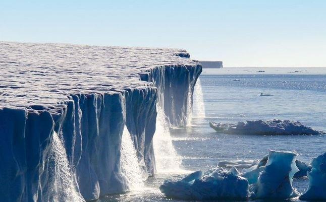 фотографии ледников сравнение