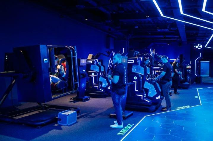 парк виртуальных развлечений «Телепорт»