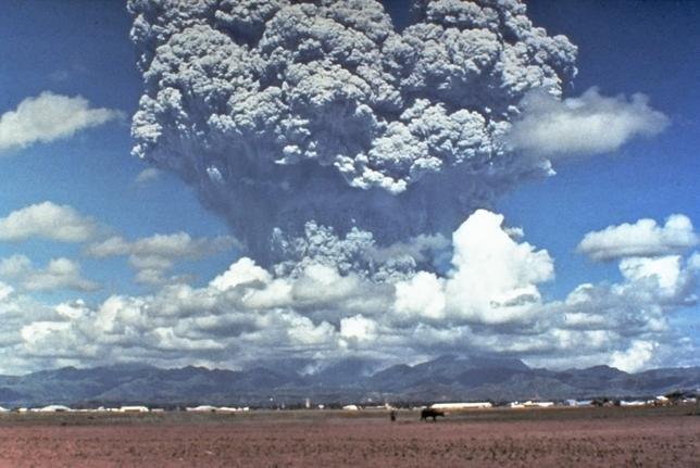 извержение вулкана Пинатубо 1991 год