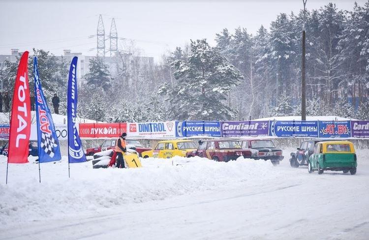 «Рождественские гонки» в Боровой, Заря