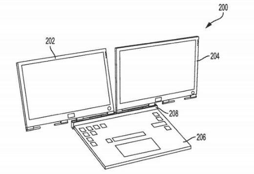 Dell может представить ноутбук с двумя экранами