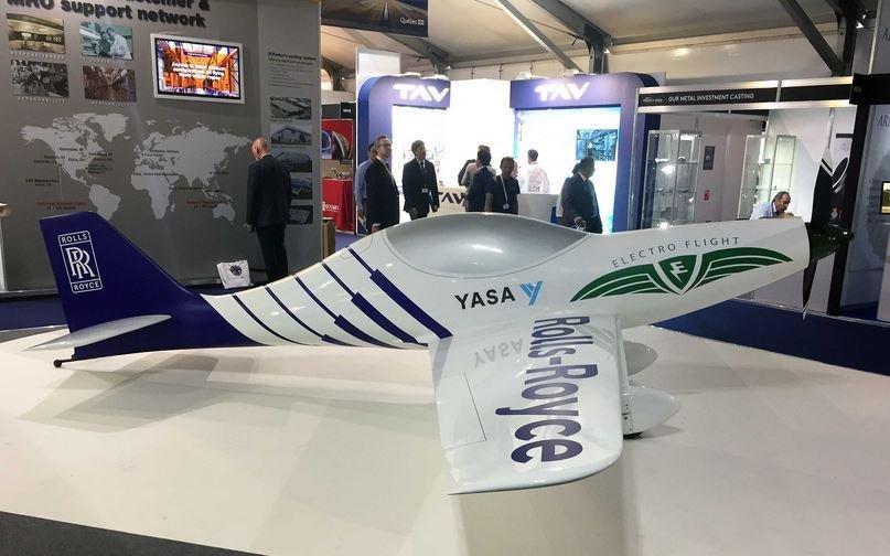 Rolls-Royce создаст самый быстрый электрический самолет в мире