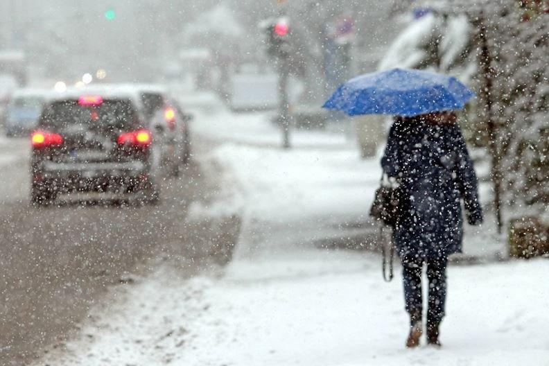 1 марта по югу Беларуси ожидается небольшой снег и дождь