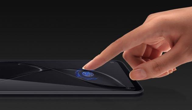 Xiaomi, сканер отпечатков пальцев